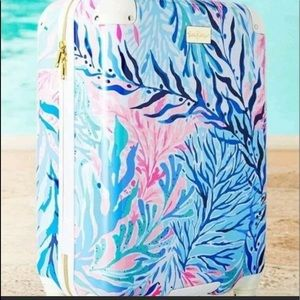 Lilly Pulitzer suitcase